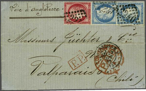 Lot 3091 - europe France -  Corinphila Auction AG Auction 220 (part 1):  EUROPE & OVERSEAS