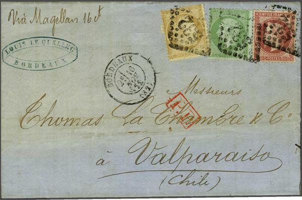 Lot 3090 - europe France -  Corinphila Auction AG Auction 220 (part 1):  EUROPE & OVERSEAS
