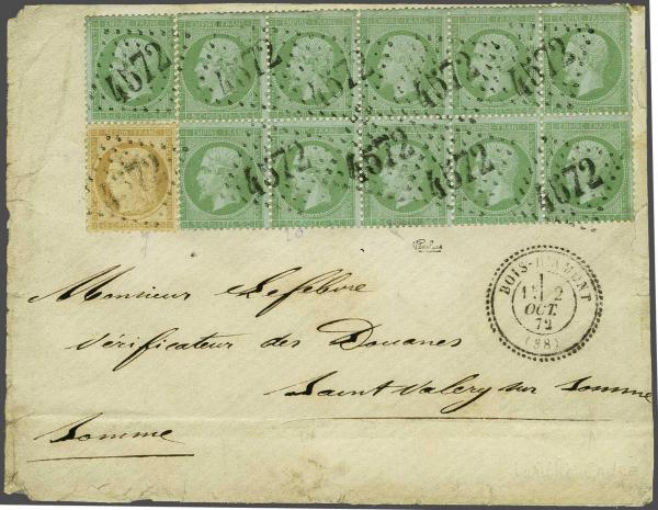 Lot 3057 - europe France -  Corinphila Auction AG Auction 220 (part 1):  EUROPE & OVERSEAS