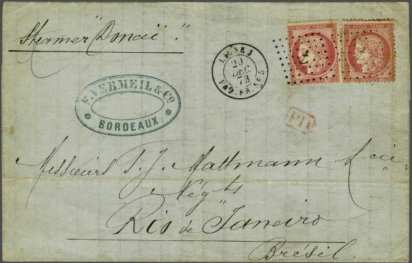 Lot 3084 - europe France -  Corinphila Auction AG Auction 220 (part 1):  EUROPE & OVERSEAS