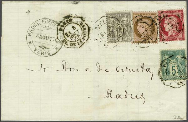 Lot 3064 - europe France -  Corinphila Auction AG Auction 220 (part 1):  EUROPE & OVERSEAS