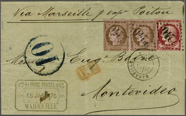 Lot 3063 - europe France -  Corinphila Auction AG Auction 220 (part 1):  EUROPE & OVERSEAS