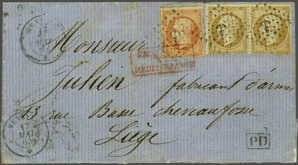 Lot 3082 - europe France -  Corinphila Auction AG Auction 220 (part 1):  EUROPE & OVERSEAS