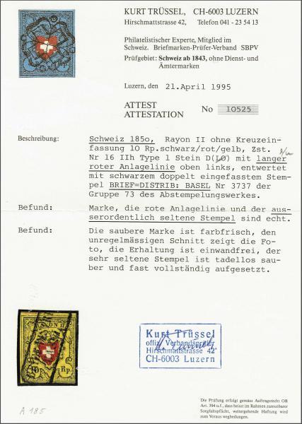Lot 8213 - schweiz rayon ii -  Corinphila Auction AG SWITZERLAND & LIECHTENSTEIN | Day 5