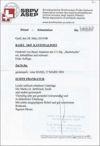 Lot 8131 - schweiz basel -  Corinphila Auction AG SWITZERLAND & LIECHTENSTEIN | Day 5