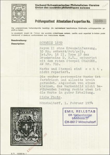 Lot 8208 - schweiz rayon ii -  Corinphila Auction AG SWITZERLAND & LIECHTENSTEIN | Day 5