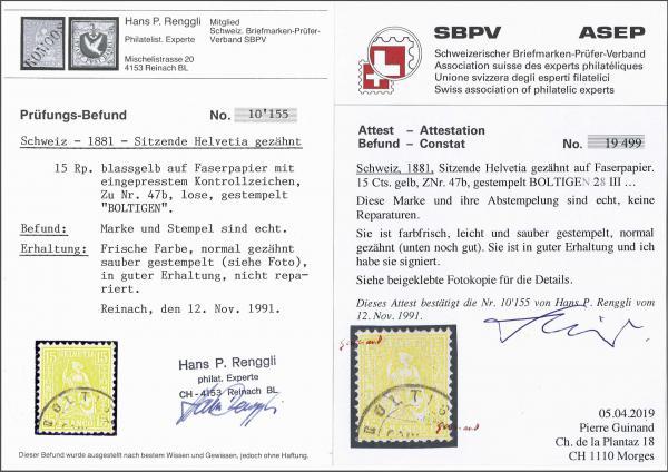 Lot 9006 - schweiz sitz. helvetia gez. -  Corinphila Auction AG SWITZERLAND & LIECHTENSTEIN | Day 6