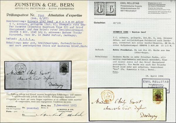 Lot 8094 - schweiz genf -  Corinphila Auction AG SWITZERLAND & LIECHTENSTEIN   Day 5