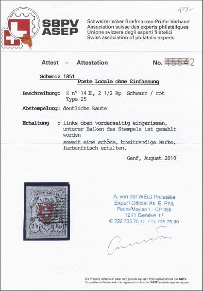 Lot 8158 - schweiz Bundesmarken -  Corinphila Auction AG SWITZERLAND & LIECHTENSTEIN   Day 5