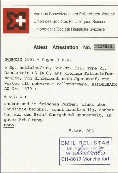 Lot 8215 - schweiz rayon i hellblau -  Corinphila Auction AG SWITZERLAND & LIECHTENSTEIN | Day 5