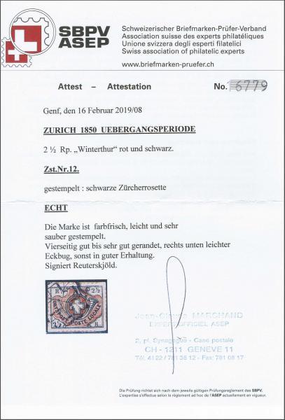 Lot 8051 - schweiz zürich -  Corinphila Auction AG SWITZERLAND & LIECHTENSTEIN | Day 5