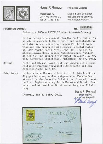 Lot 8190 - schweiz rayon ii -  Corinphila Auction AG SWITZERLAND & LIECHTENSTEIN | Day 5