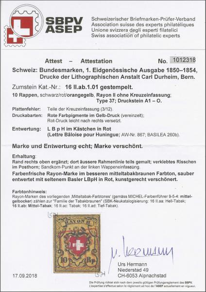 Lot 8214 - schweiz rayon ii -  Corinphila Auction AG SWITZERLAND & LIECHTENSTEIN | Day 5