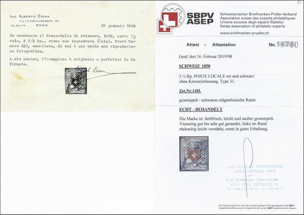 Lot 8160 - schweiz Bundesmarken -  Corinphila Auction AG SWITZERLAND & LIECHTENSTEIN   Day 5