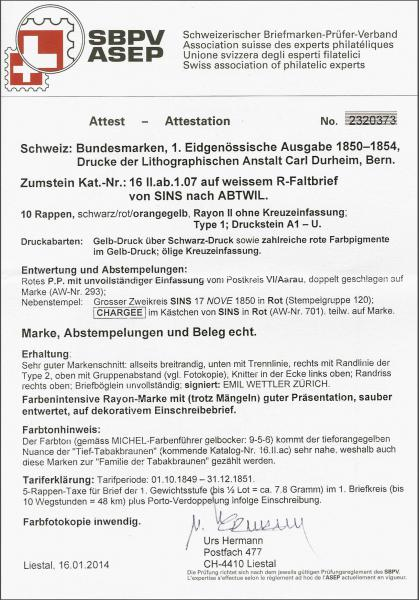 Lot 8201 - schweiz rayon ii -  Corinphila Auction AG SWITZERLAND & LIECHTENSTEIN | Day 5