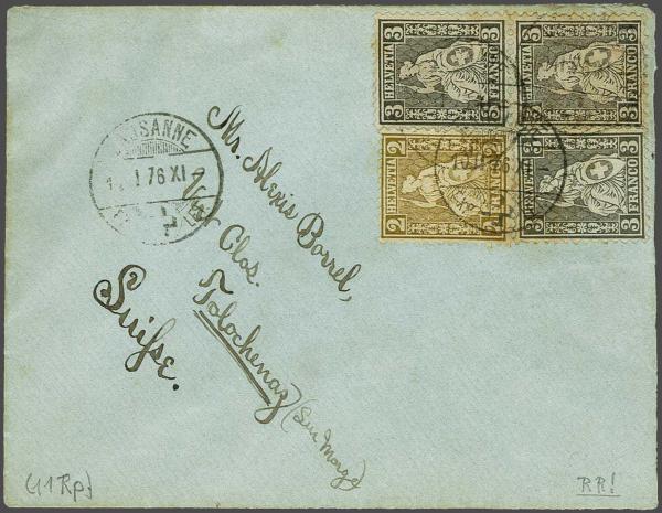 Lot 9017 - schweiz sitz. helvetia gez. -  Corinphila Auction AG SWITZERLAND & LIECHTENSTEIN | Day 6