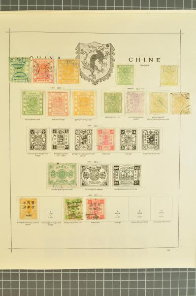 5f97057646 Stamp Auction - übersee china kaiserreich - AUSTRALIA EUROPE ...