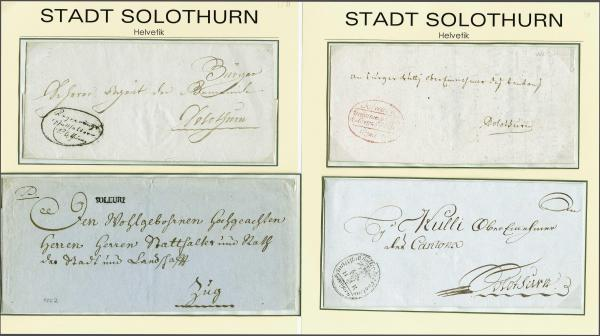 Lot 8009 - schweiz vorläufer -  Corinphila Auction AG SWITZERLAND & LIECHTENSTEIN | Day 5