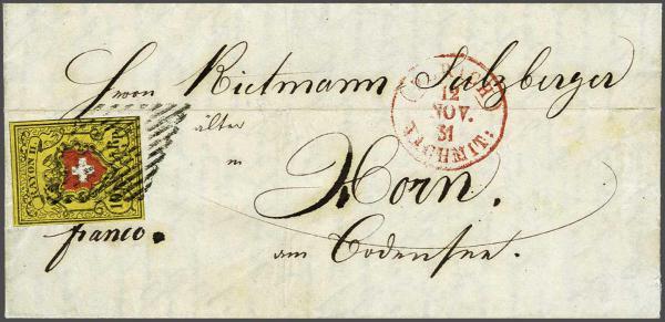 Lot 8358 - schweiz rayon ii -  Corinphila Auction AG SWITZERLAND & LIECHTENSTEIN   Day 5