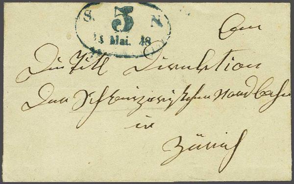 Lot 8023 - schweiz vorläufer -  Corinphila Auction AG SWITZERLAND & LIECHTENSTEIN | Day 5