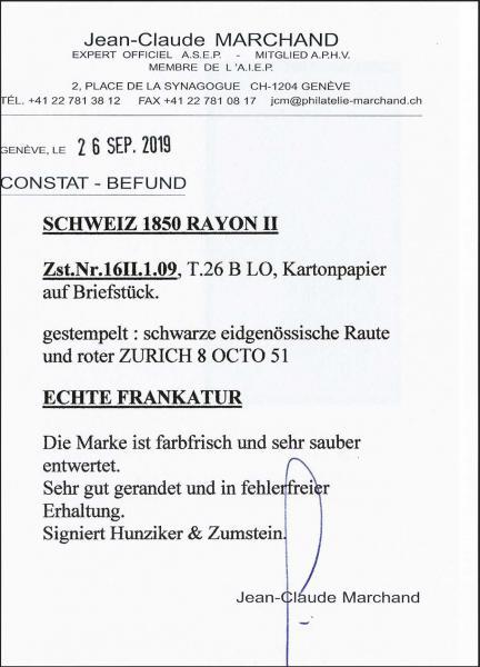 Lot 7022 - Switzerland rayon ii -  Corinphila Auction AG Day 5- Schweiz - Die Sammlung Erivan (Teil 1), Die Sammlung Jack Luder (Teil 5), Schweiz & Liechtenstein