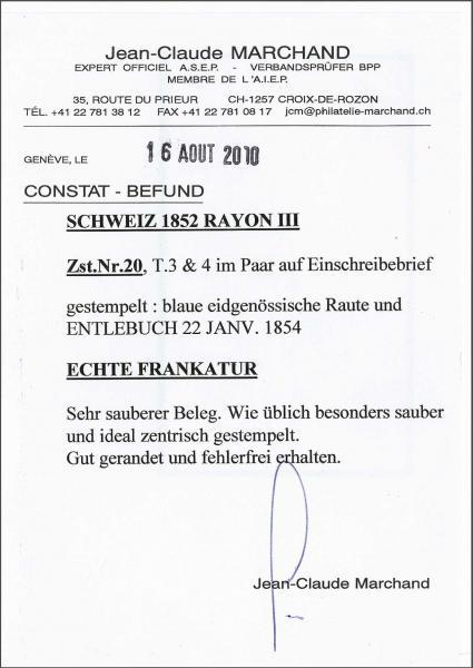 Lot 7424 - Switzerland rayon iii -  Corinphila Auction AG Day 5- Schweiz - Die Sammlung Erivan (Teil 1), Die Sammlung Jack Luder (Teil 5), Schweiz & Liechtenstein
