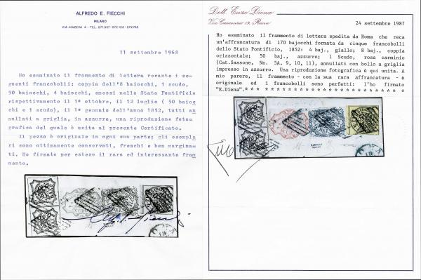 Lot 628 - europe papal state -  Corinphila Auction AG Day 2- Europe & Overseas, Austrian Levant