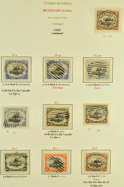 Lot 1848 - brit. colonies papua new guinea -  Corinphila Auction AG Day 3 - Great Britain, British Colonies, Pre-Union South Africa - the Besançon Collection (Part Ii)