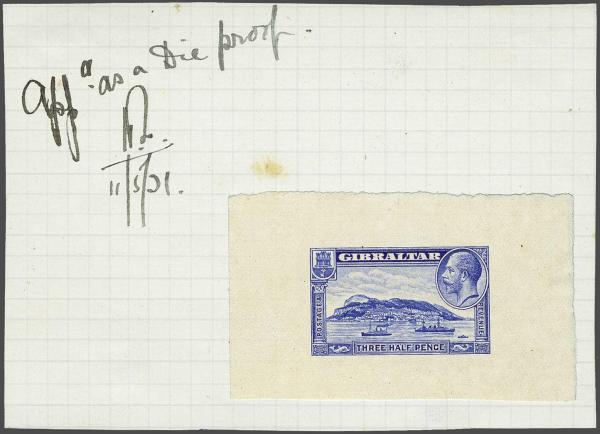Lot 2144 - brit. colonies Gibraltar -  Corinphila Auction AG Day 3 - Great Britain, British Colonies, Pre-Union South Africa - the Besançon Collection (Part Ii)