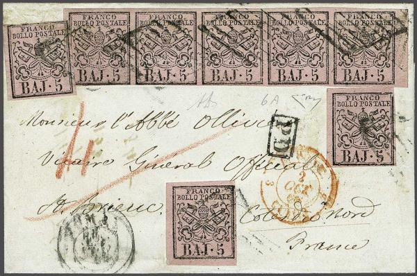 Lot 609 - europe papal state -  Corinphila Auction AG Day 2- Europe & Overseas, Austrian Levant