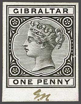 Lot 2079 - brit. colonies Gibraltar -  Corinphila Auction AG Day 3 - Great Britain, British Colonies, Pre-Union South Africa - the Besançon Collection (Part Ii)