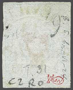 Lot 7410 - Switzerland rayon i light blue -  Corinphila Auction AG Day 5- Schweiz - Die Sammlung Erivan (Teil 1), Die Sammlung Jack Luder (Teil 5), Schweiz & Liechtenstein