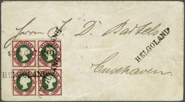 Lot 2353A - germany helgoland -  Corinphila Auction AG Day 4- Europe & Overseas, Zeppelin-Mail, Die Sammlung Erivan (Part I), Schweiz & Liechtenstein