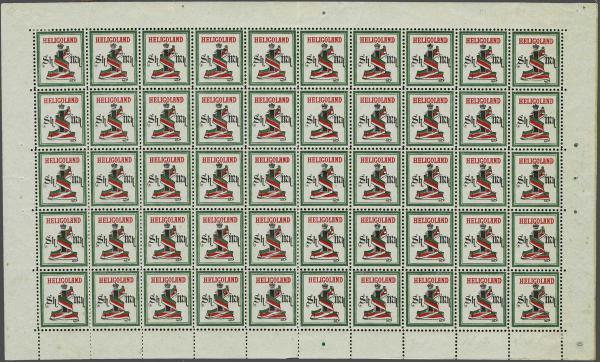 Lot 2356 - germany helgoland -  Corinphila Auction AG Day 4- Europe & Overseas, Zeppelin-Mail, Die Sammlung Erivan (Part I), Schweiz & Liechtenstein