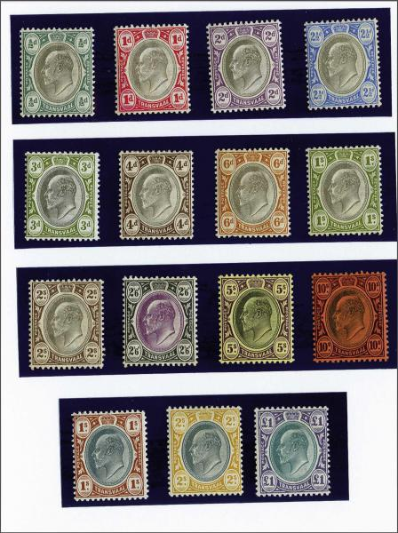 Lot 6426 - brit. colonies transvaal -  Corinphila Auction AG Day 3 - Great Britain, British Colonies, Pre-Union South Africa - the Besançon Collection (Part Ii)