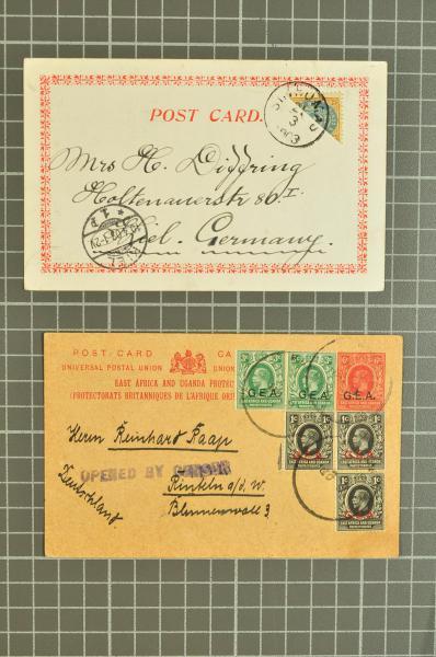 Lot 2591 - worldwide collections/lots worldwide -  Corinphila Auction AG Day 4- Europe & Overseas, Zeppelin-Mail, Die Sammlung Erivan (Part I), Schweiz & Liechtenstein