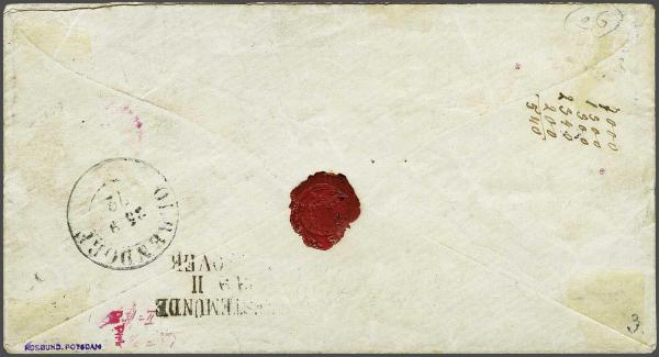 Lot 2347 - germany helgoland -  Corinphila Auction AG Day 4- Europe & Overseas, Zeppelin-Mail, Die Sammlung Erivan (Part I), Schweiz & Liechtenstein