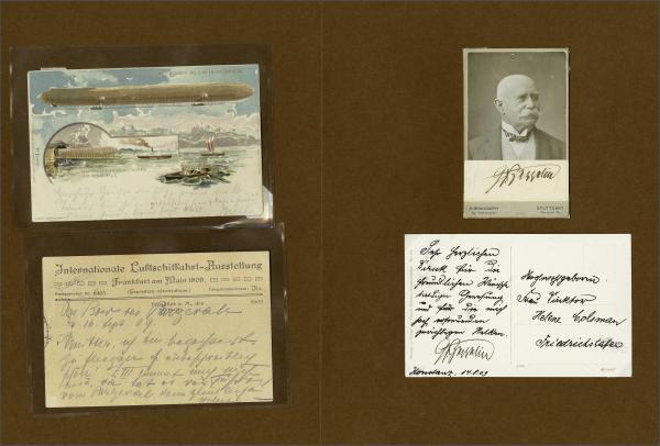 Lot 5003 - germany zeppelin mail -  Corinphila Auction AG Day 4- Europe & Overseas, Zeppelin-Mail, Die Sammlung Erivan (Part I), Schweiz & Liechtenstein