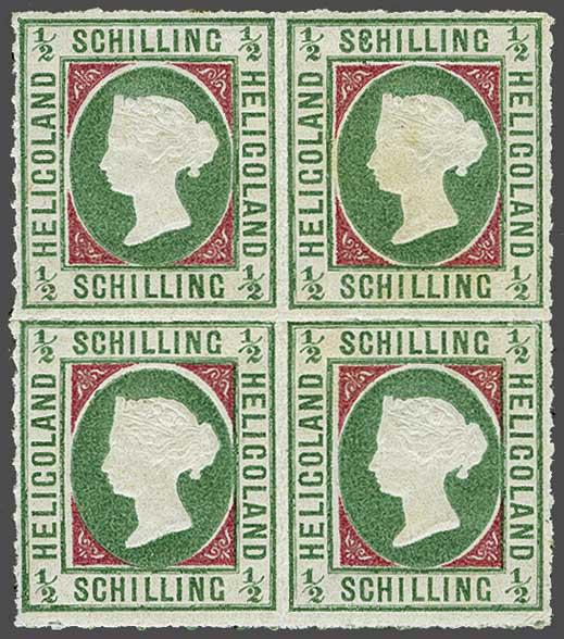 Lot 2342 - germany helgoland -  Corinphila Auction AG Day 4- Europe & Overseas, Zeppelin-Mail, Die Sammlung Erivan (Part I), Schweiz & Liechtenstein