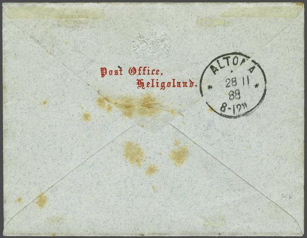 Lot 2355 - germany helgoland -  Corinphila Auction AG Day 4- Europe & Overseas, Zeppelin-Mail, Die Sammlung Erivan (Part I), Schweiz & Liechtenstein