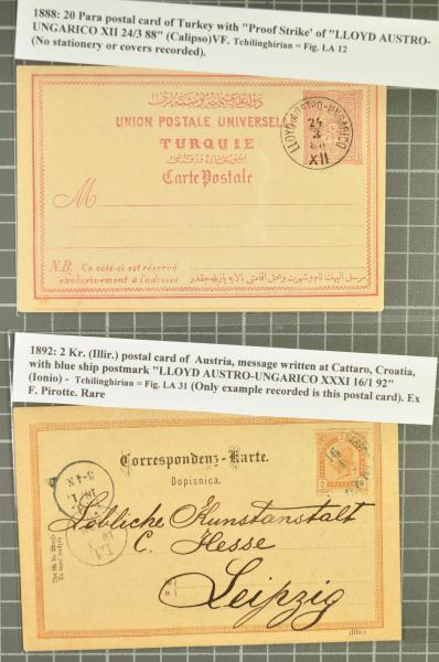 Lot 1356 - europe austrian levant -  Corinphila Auction AG Day 2- Europe & Overseas, Austrian Levant