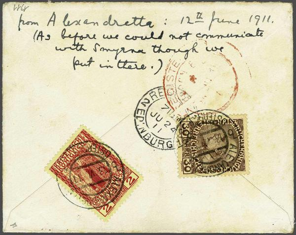 Lot 1113 - europe austrian levant -  Corinphila Auction AG Day 2- Europe & Overseas, Austrian Levant