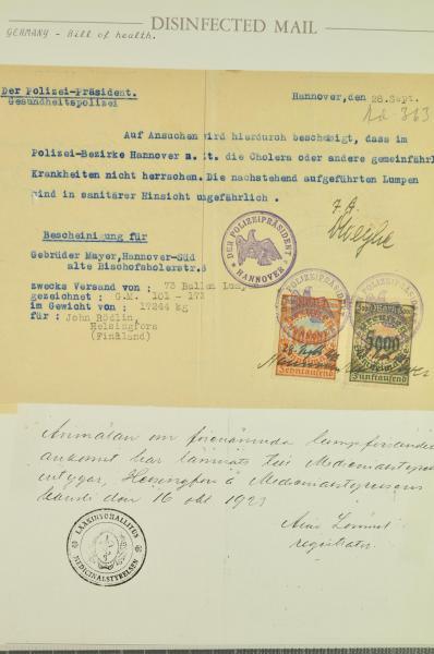 Lot 2334 - germany div. altdeutschland sammlungen/posten -  Corinphila Auction AG Day 4- Europe & Overseas, Zeppelin-Mail, Die Sammlung Erivan (Part I), Schweiz & Liechtenstein