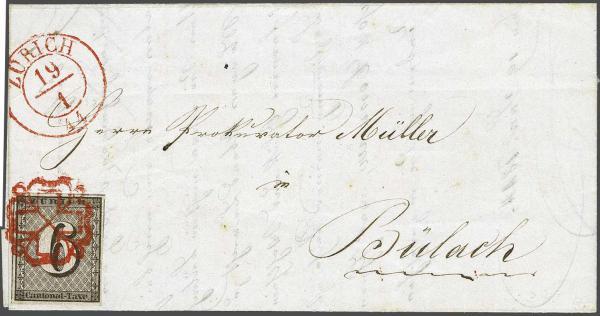 Lot 7104 - Switzerland zürich -  Corinphila Auction AG Day 5- Schweiz - Die Sammlung Erivan (Teil 1), Die Sammlung Jack Luder (Teil 5), Schweiz & Liechtenstein