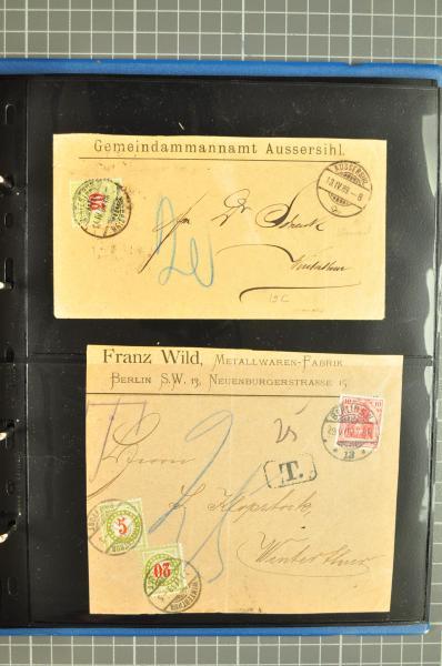 Lot 8613 - Switzerland Switzerland -  Corinphila Auction AG Day 4- Europe & Overseas, Zeppelin-Mail, Die Sammlung Erivan (Part I), Schweiz & Liechtenstein