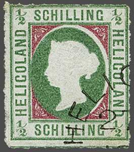 Lot 2343 - germany helgoland -  Corinphila Auction AG Day 4- Europe & Overseas, Zeppelin-Mail, Die Sammlung Erivan (Part I), Schweiz & Liechtenstein