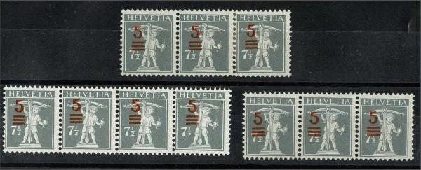 Lot 8003 - Switzerland Switzerland -  Corinphila Auction AG Day 4- Europe & Overseas, Zeppelin-Mail, Die Sammlung Erivan (Part I), Schweiz & Liechtenstein