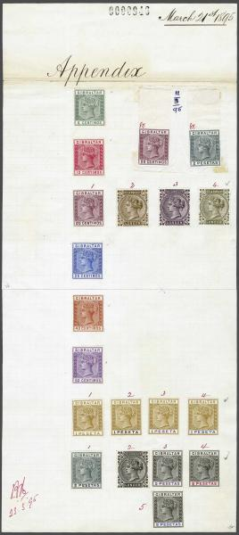 Lot 2089 - brit. colonies Gibraltar -  Corinphila Auction AG Day 3 - Great Britain, British Colonies, Pre-Union South Africa - the Besançon Collection (Part Ii)