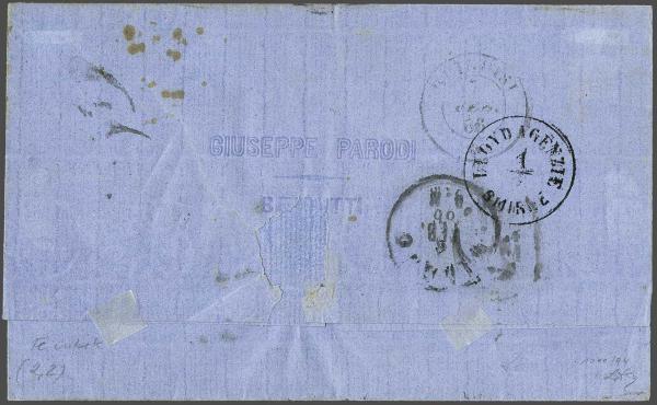 Lot 1130 - europe austrian levant -  Corinphila Auction AG Day 2- Europe & Overseas, Austrian Levant