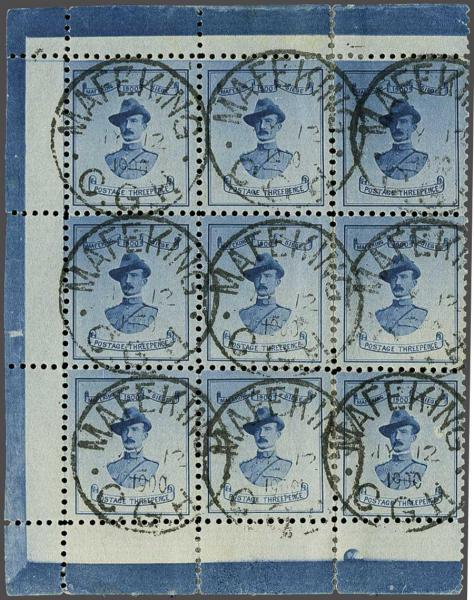 Lot 6036 - brit. colonies mafeking -  Corinphila Auction AG Day 3 - Great Britain, British Colonies, Pre-Union South Africa - the Besançon Collection (Part Ii)